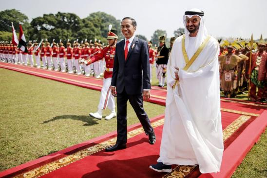 How a Gulf Prince Charmed Jokowi and Poured Money Into Indonesia image